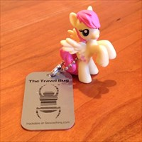 Fluttershy - GeocachePets.com Travel Bug