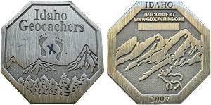 Idaho 2007 Micro Geocoin