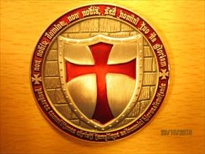 Templar Geocoin