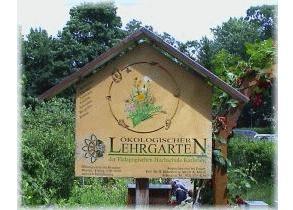 Lehrgarten Eingang