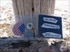 Todie's Wild Ride: Roaming Nomad USA in Dillon, MT Todie sitting on a fence post!