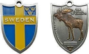 Swedish Moose Geocoin