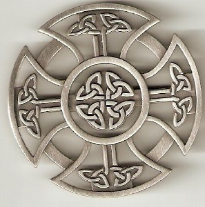 Celtic Cross Geocoin