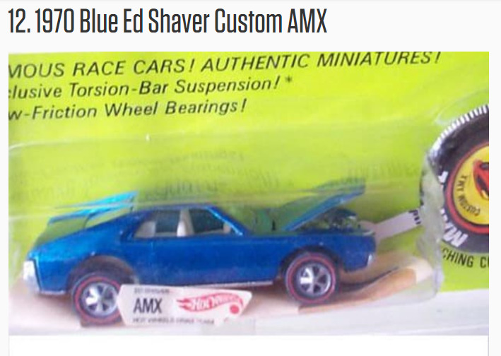 GC79DPP 1970 Blue Ed Shaver Custom AMX (Traditional Cache) in
