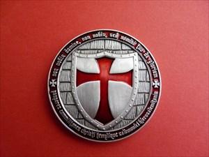 KatPunn's Templar Geocoin