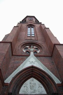 Vstupni portal katolickeho kostela
