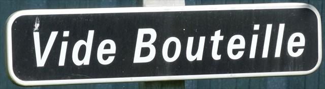 Vide Bouteille