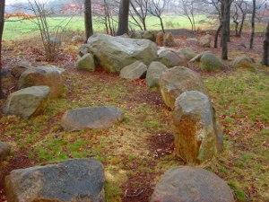 Blick von Norden über die Hünensteine