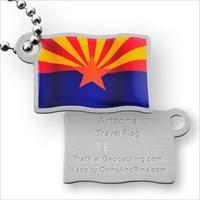 Travel Flag Arizona