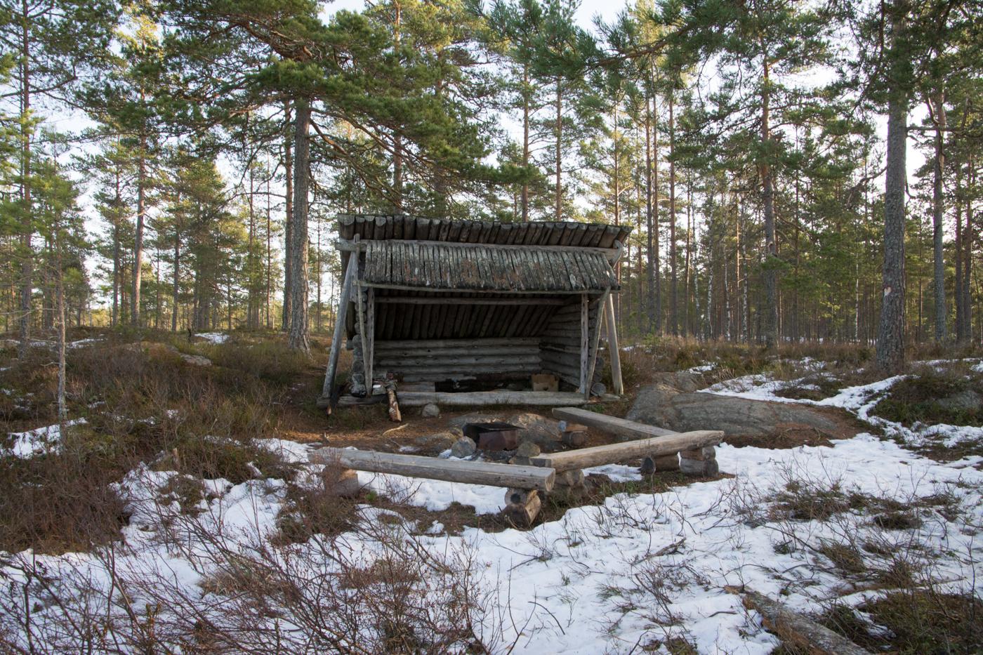 Vindskyddet i Lappland