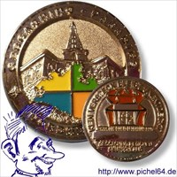Pichel64 MysteryCoin Regions of Germany
