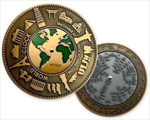 World Clock Geocoin