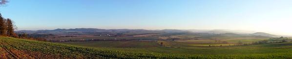 Panorama výhledu