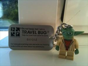 Yoda - Cub Scout Travel Bug