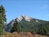 The cap site ridge from Eagle Lake