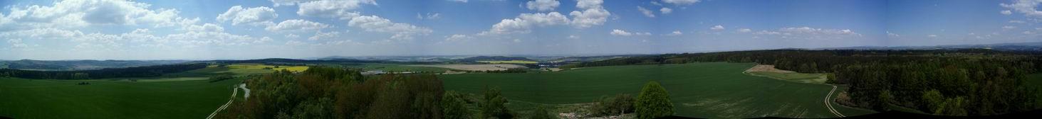 Kožich - panorama