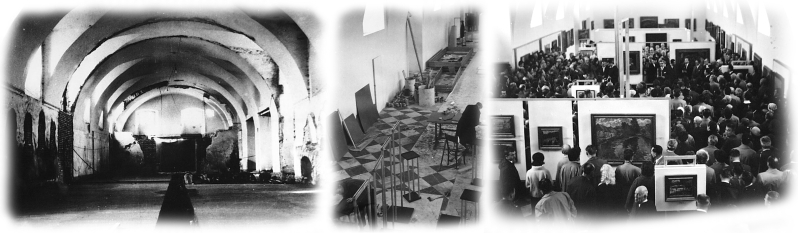 dokoncení rekonstrukce, dlažba a první expozice