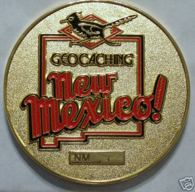 JMCz's New Mexico Geocoin #9