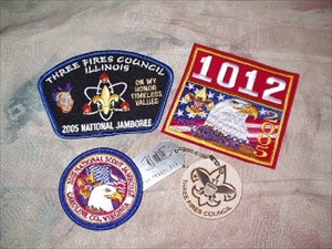 Troop 1012 jamboree patches