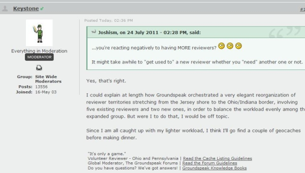 Slukster Wrote On This Thread Forumsgroundspeak GC Indexphpshowtopic278639 In The Forum Keystone Posted Following Reply