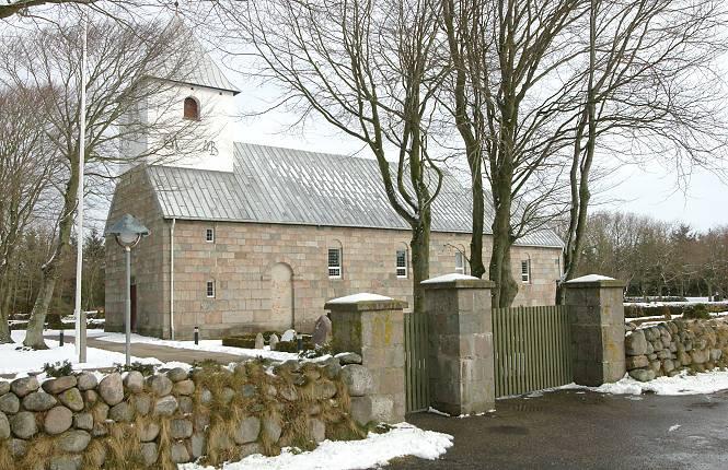 Rubjerg kirke. Foto: Niels Clemmensen
