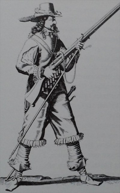 Univormun erilaisella värityksellä tai kuvioinnilla voitiin myös erottaa  eri aselajeihin tai joukko-osastoihin kuuluvat sotilaat toisistaan b875e11d36