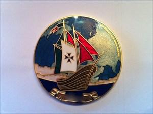 Voyage of Exploration  Sea Geocoin