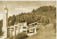 La gare du téléphérique, avant 1960