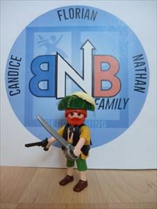 Sam le pirate - BNB Family