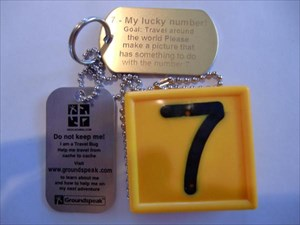 7 - My lucky number!