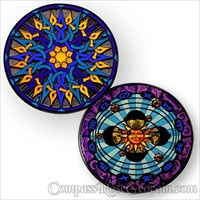 Compass Rose Geocoin 2011 - Eclipse