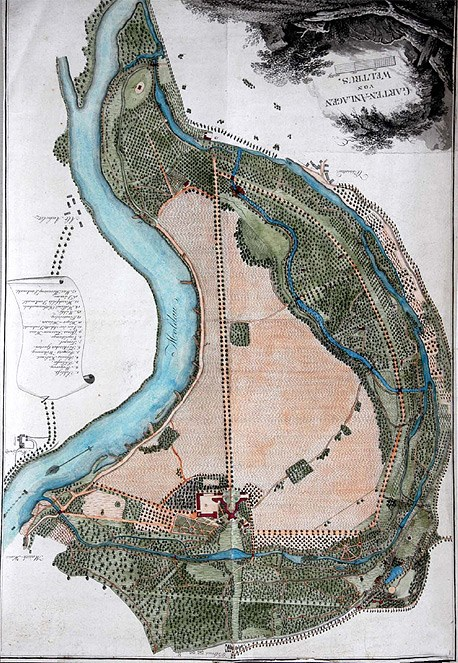 Park v roce 1824