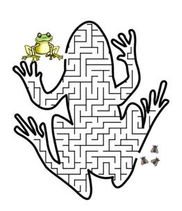 http://www.uxlib.com/modules/kid_teen/kids/Frog-maze.gif