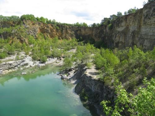 Der See im unteren Teil