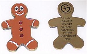 Gingerbread Geocoin