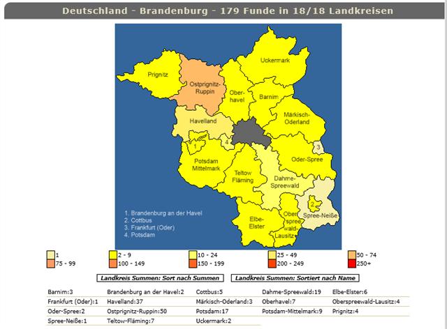 Brandenburg, Stand: 27.11.2016
