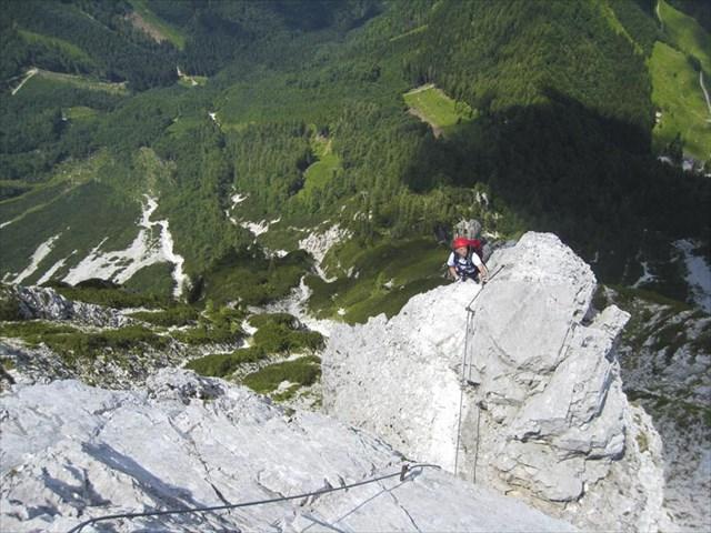 Klettersteig Lärchenturm : Viaferrata orionsoft cz lärchenturm klettersteig