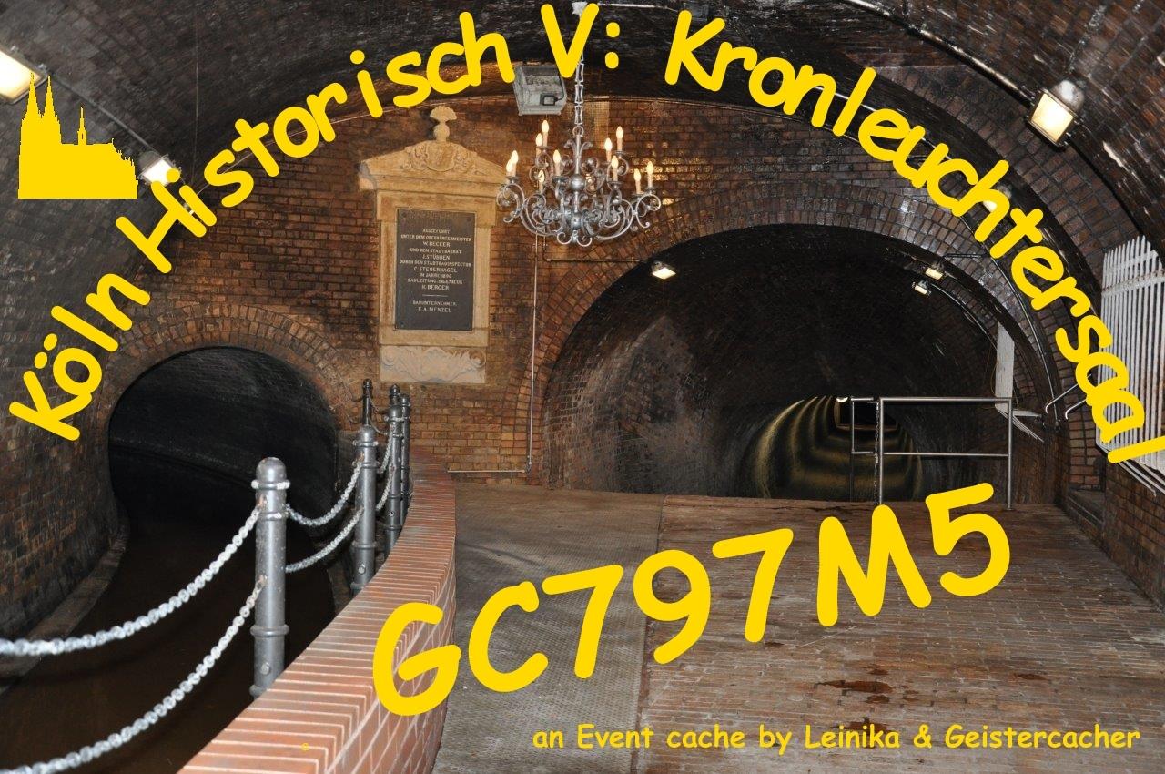 Besichtigung Kronleuchtersaal Köln ~ Gc797m5 köln historisch v : der kronleuchtersaal event cache in
