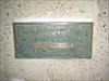This is the plaque on the side of the pedestal