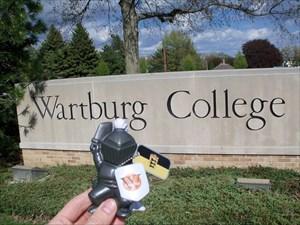 Wartburg Knight leaving home