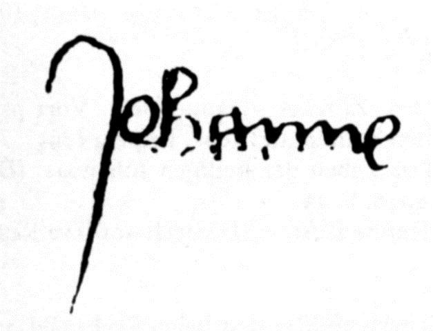 Podpis Johanky
