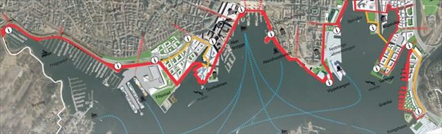Kart Havnepromenaden