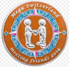 MEGA Switzerland – meeting friends 2014-Helfercoin