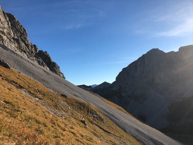 Klettersteig Sulzfluh : Gc v n klettersteig sulzfluh traditional cache in graubünden