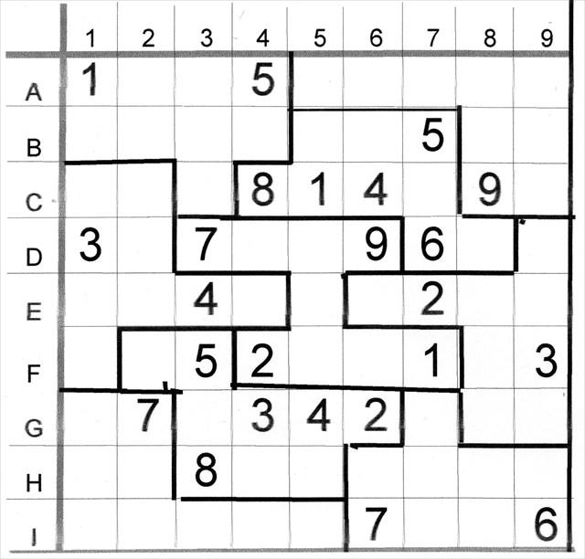 photograph regarding Irregular Sudoku Printable named GC6BG1D Missoula Sudoku - Abnormal Medium (Unfamiliar Cache