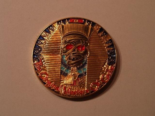 Masters of Cache II - The Mummy Geocoin