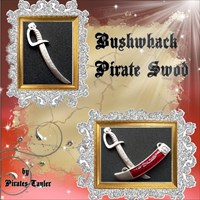 PT´s Bushwhack Pirate Sword