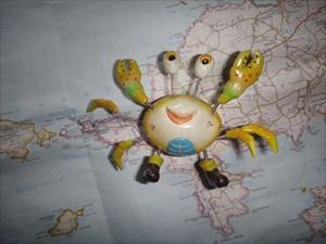 Crabby planning.