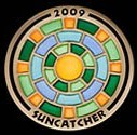 Suncatcher 2009 Geocoin - Gold