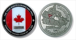 2006 Canadian Geocoin